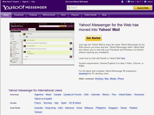 how to use yahoo messenger video call on mac