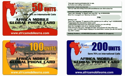 Africa Phone Cards