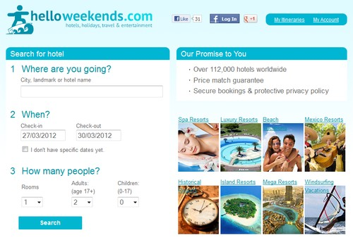 Helloweekends.com Travel Tips