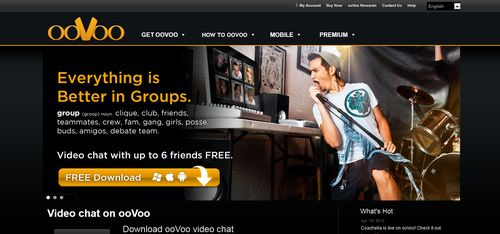 ooVoo Video Features