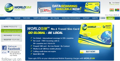 World SIM Cards
